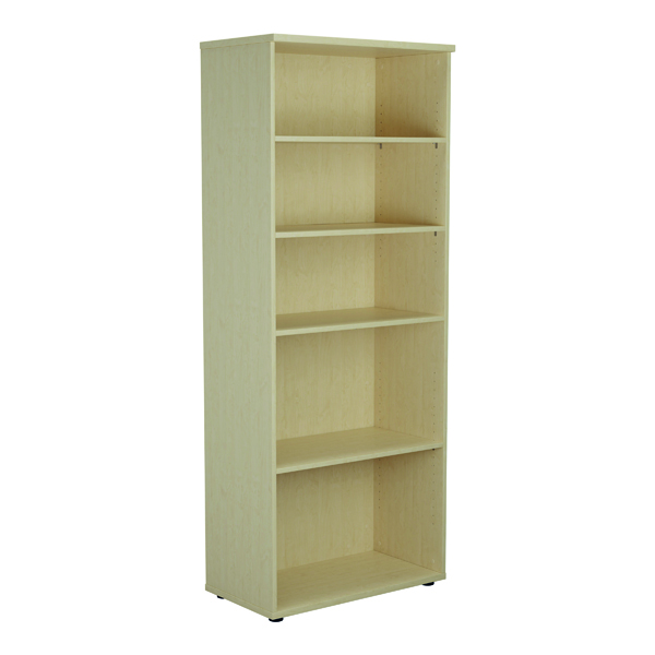 Jemini 2000mm 4 Shelf Wooden Bookcase 450mm Depth Maple KF811176