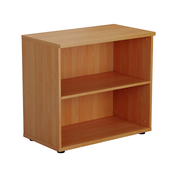 Jemini 700mm 1 Shelf Wooden Bookcase 450mm Depth Beech KF811206