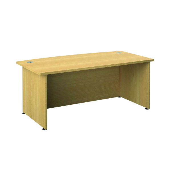 Avior Bow Fronted Executive Desk Nova Oak TR2090NOAK