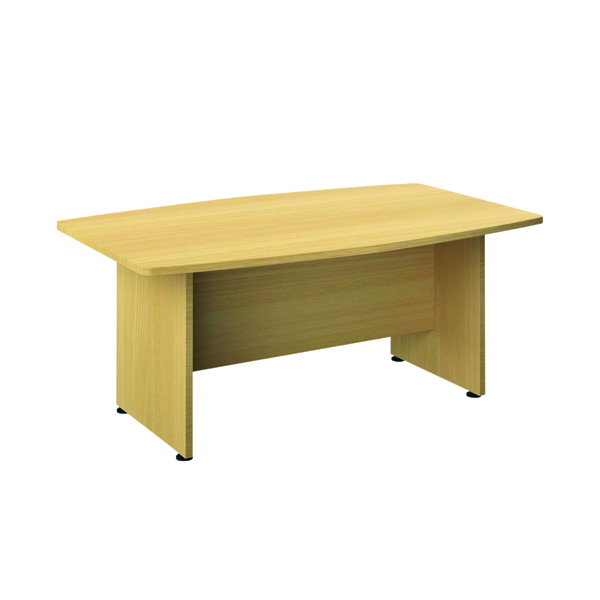 Avior Executive Boardroom Meeting Table 1800mm Nova Oak TR1810BTNOAK