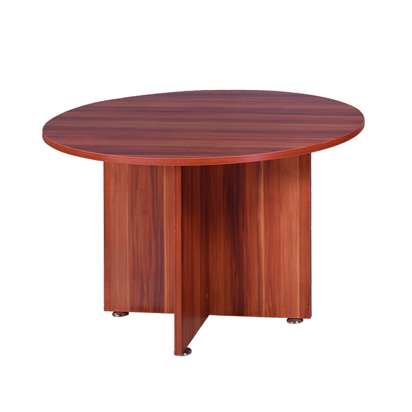 Avior Cherry 1200mm Round Meeting Table KF838267