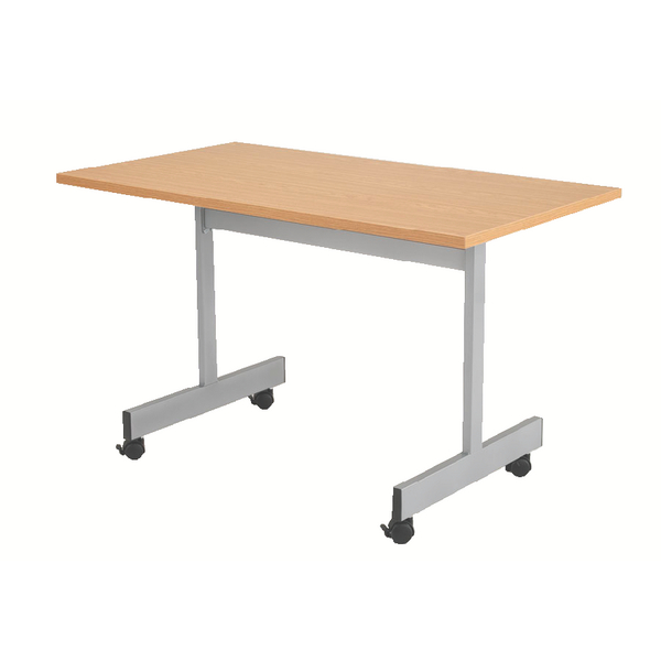 Jemini Oak 1600mm Flip Top Table KF838323