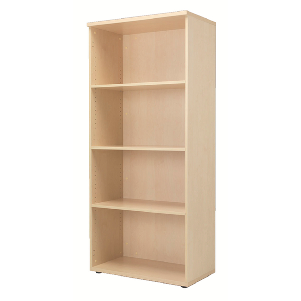 Jemini 4 Shelf Maple 1800mm Bookcase KF838422