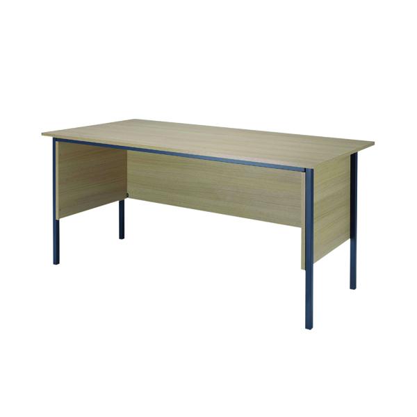 Serrion Warm Maple 1500mm 4 Leg Desk KF838533