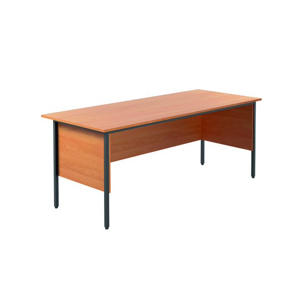 Serrion Bavarian Beech 1800mm 4 Leg Desk KF838754