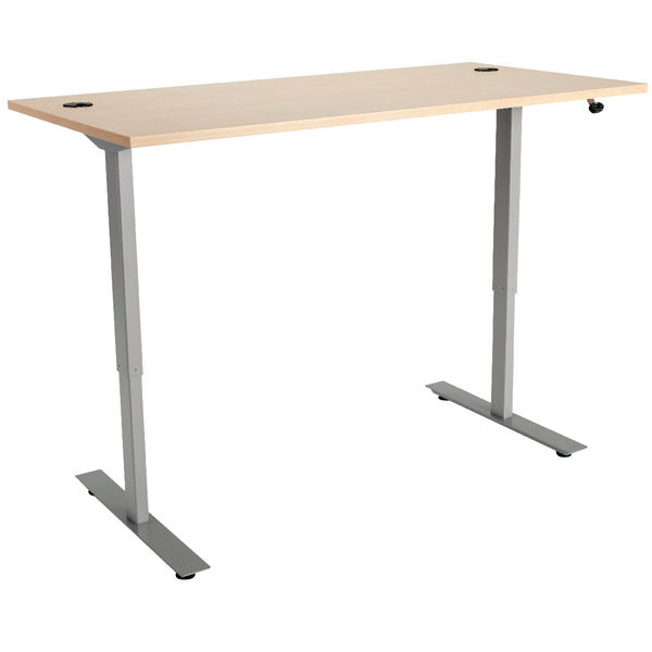 Maple 1600mm Sit Stand Desk KF838843