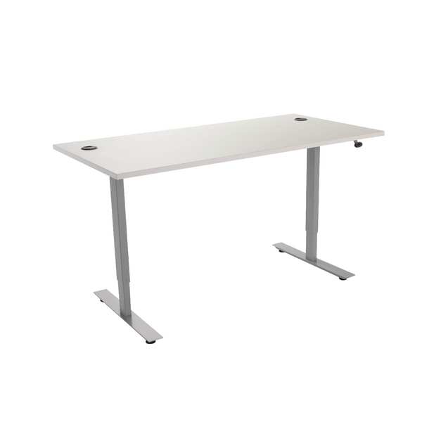 White 1200mm Sit / Stand Desk KF838845