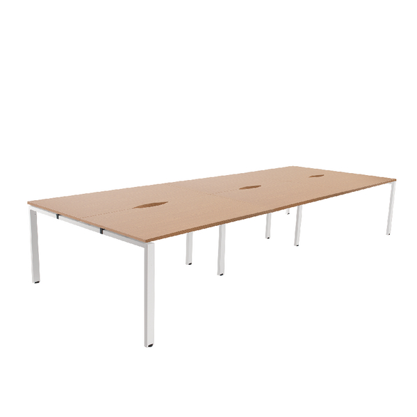Arista Oak 1200mm 6 Person Bench System KF838968