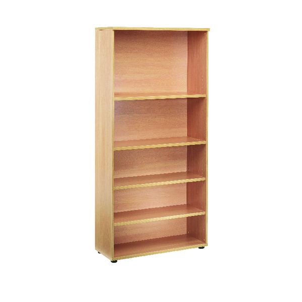 First 2000mm Bookcase 4 Shelf Beech KF839200