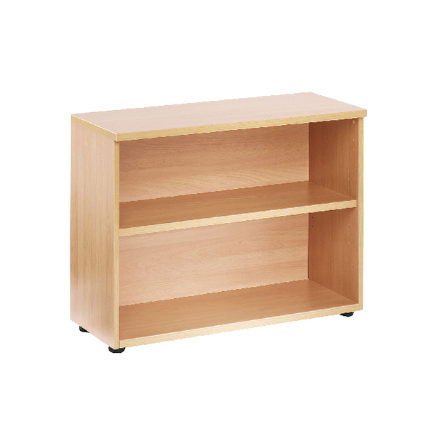First 730mm Bookcase 1 Shelf Oak KF839201