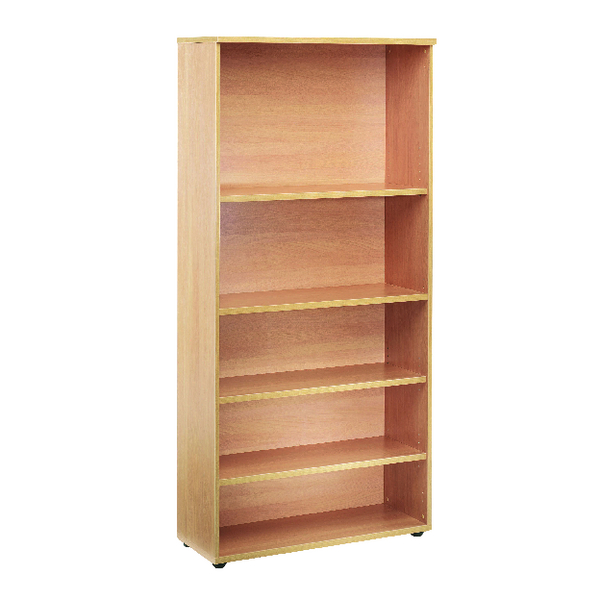 First 1800mm Bookcase 4 Shelf Oak KF839202