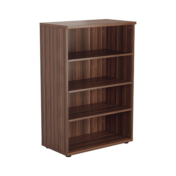 Jemini Grey Oak 1200mm 1 Shelf Bookcase KF840137