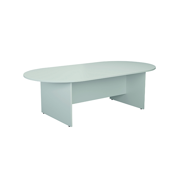 Jemini White 2400mm Meeting Table KF840159