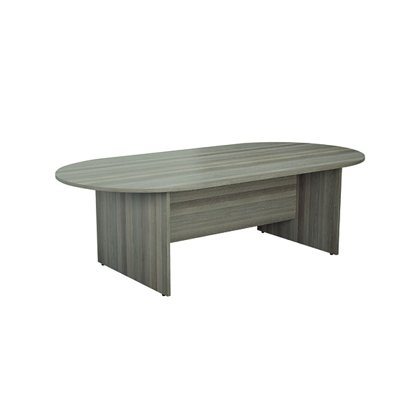 Jemini 2400mm Meeting Table Grey Oak KF840160