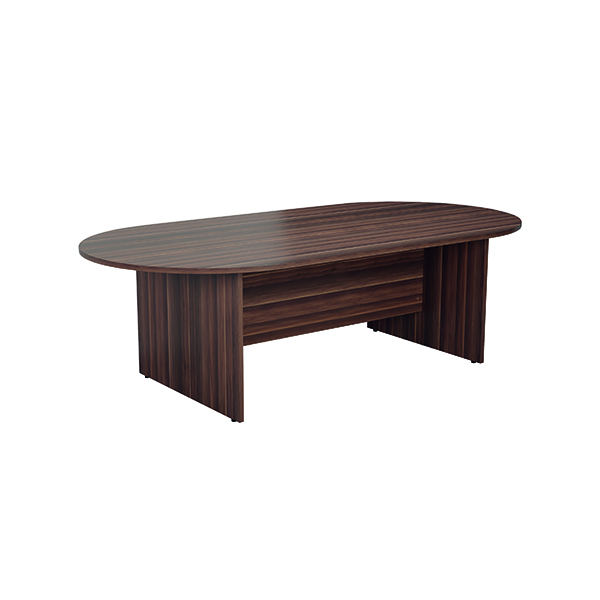 Jemini 2400mm Meeting Table Dark Walnut KF840161