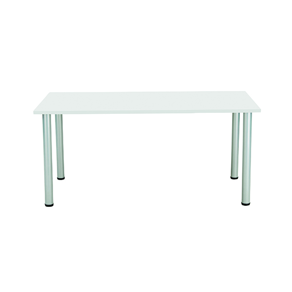 Jemini White 1800x800mm Rectangular Meeting Table KF840187