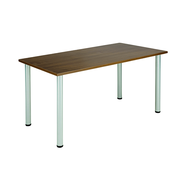Jemini Walnut 1600x800mm Rectangular Meeting Table KF840191