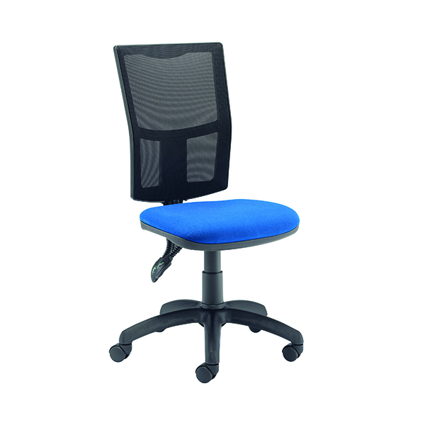 FF First Medway Mesh High Back Operator Chair Blue CH2803TC4RB