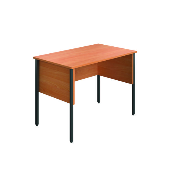 Eco Midi Homework Desk 1000x600mm Beech ECMHD1060BE