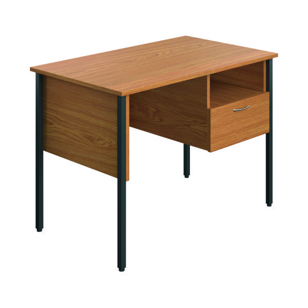 Eco 18 Homework Desk Four Leg Oak ECS1000FLOK