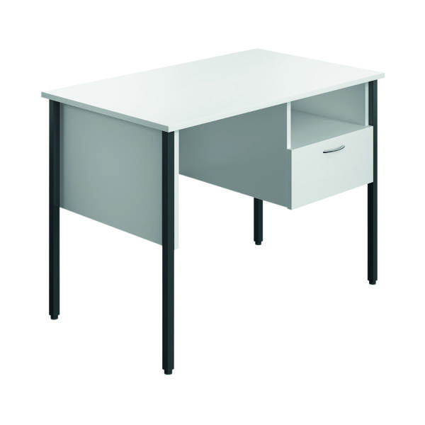Eco 18 Homework Desk Four Leg White ECS1000FLWH