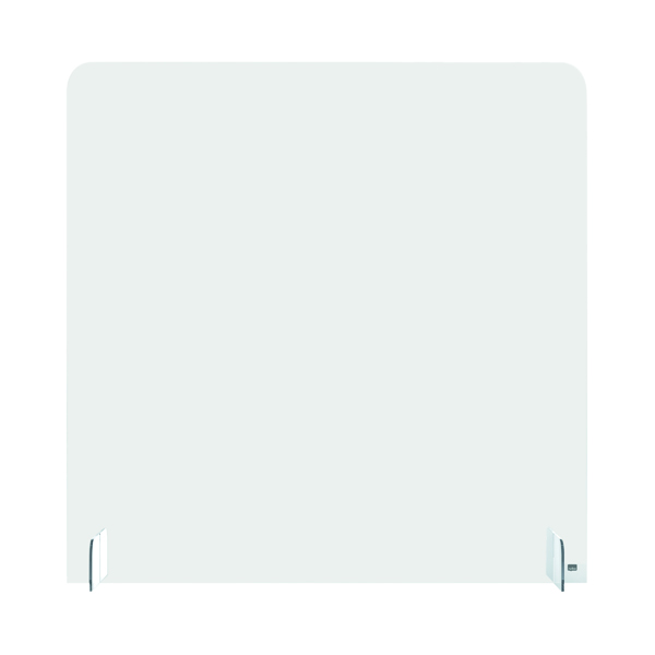 Nobo Acrylic Counter Partition Screen 700 x 850mm Clear KF90402