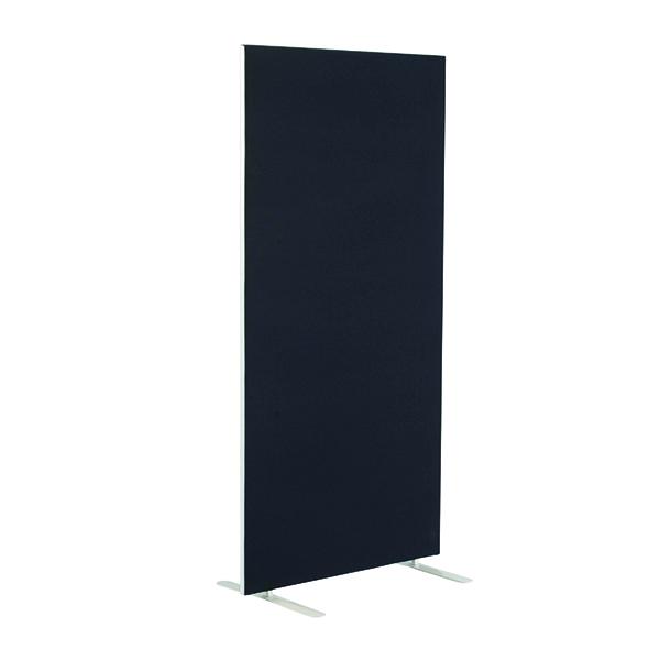 Jemini Floor Standing Screen 1200 x 1800mm Black KF90493