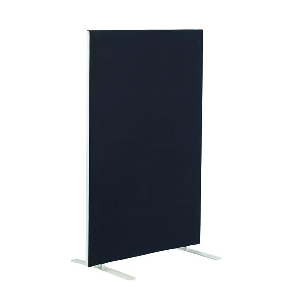 Jemini Floor Standing Screen 1400 x 1800mm Black KF90499