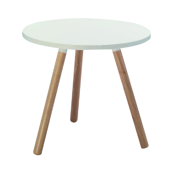 Jemini Low Tripod Bistro Table CH2671WH