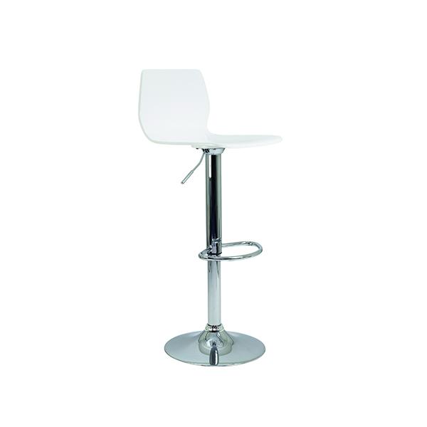 Jemini Stork High Stool White CH0670WH