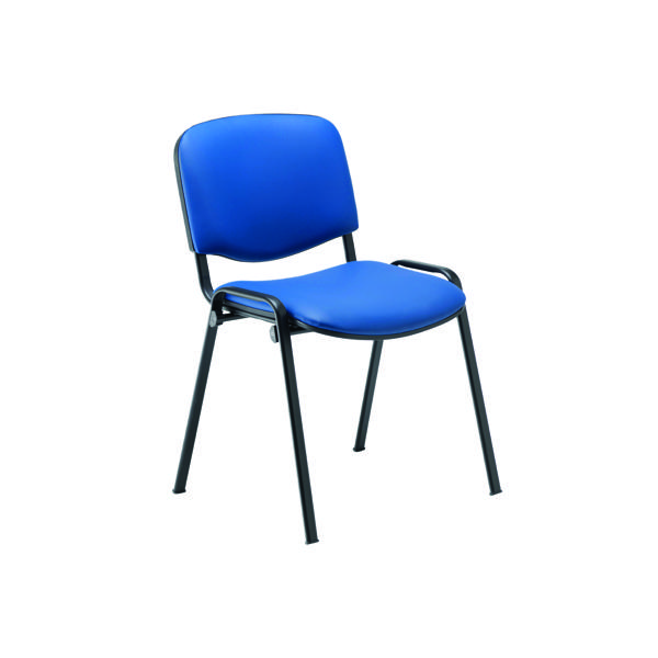 Jemini Ultra Multipurpose Stacker Chair Blue Polyurethane CH0500PUBL