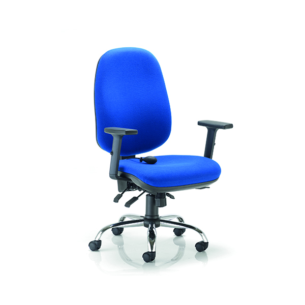 Arista Aire High Back Ergonomic Maxi Chair Blue CH1808RB