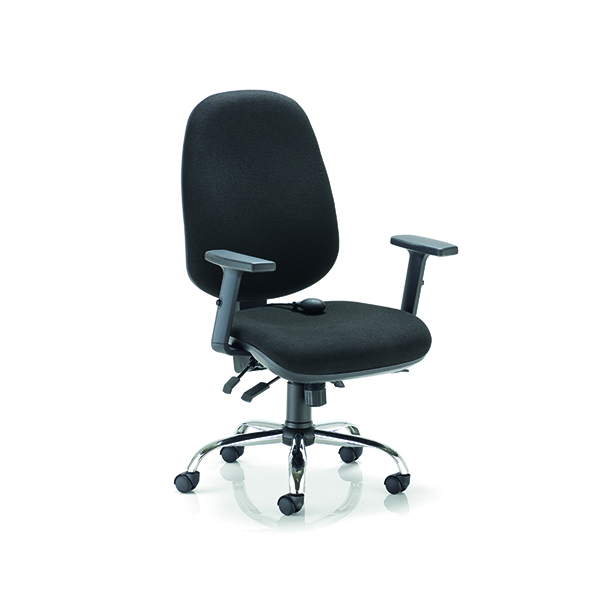 Arista Aire High Back Ergonomic Maxi Chair Black CH1808BK