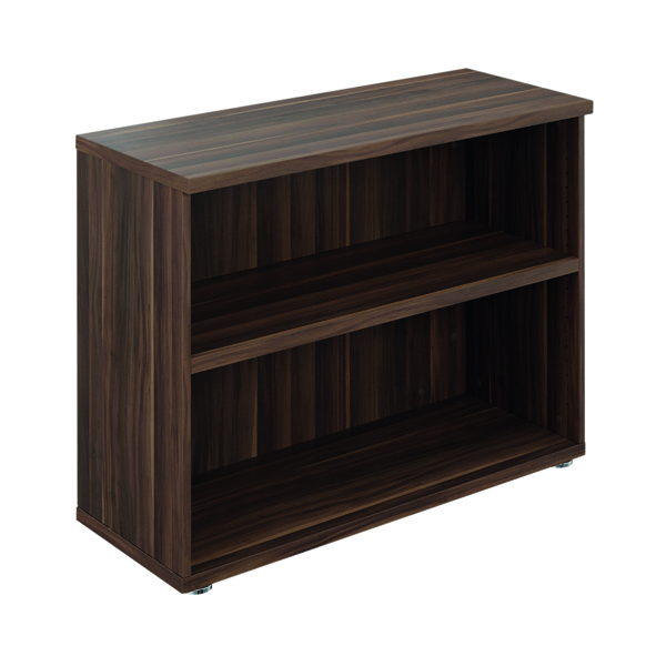 Avior Executive Bookcase 800mm Dark Walnut TR8040DW