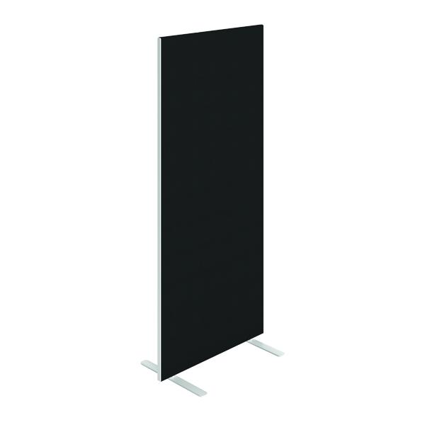Jemini Floor Standing Screen 800 x 1800mm Black KF90694