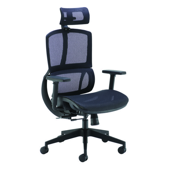 Arista Lena Mesh Chair Black CH1914