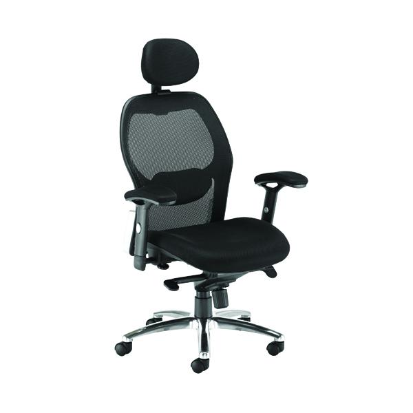 Arista Topaz Mesh Chair Black KF90898