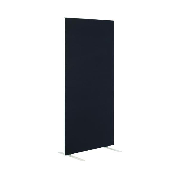 First Jemini Floor Stand Screen 800 x 1600mm Black KF90961