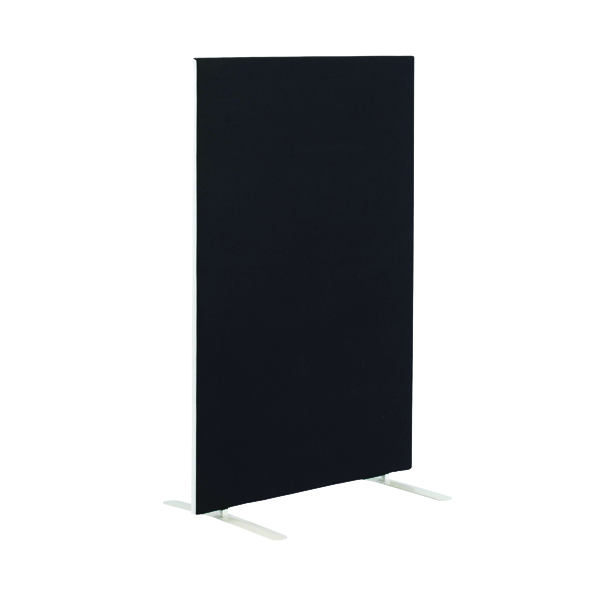 First Jemini Floor Stand Screen 1600 x 1200mm Black KF90965
