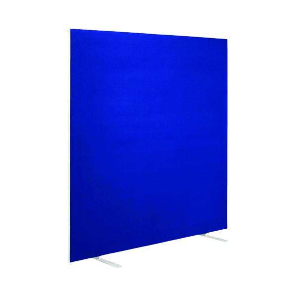 First Jemini Floor Stand Screen 1400 x 1200mm Blue KF90970