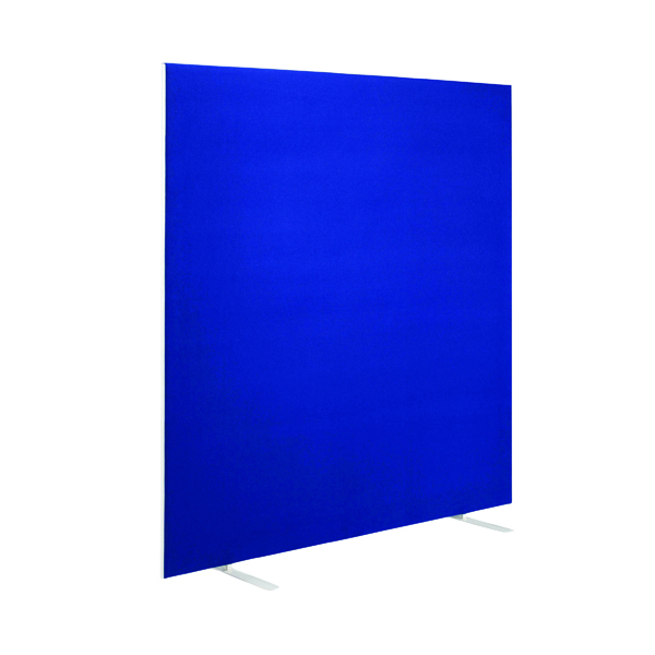 First Jemini Floor Stand Screen 1400 x 1600mm Blue KF90972