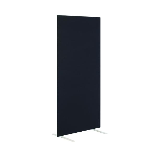 First Jemini Floor Stand Screen 1400 x 1800mm Black KF90973
