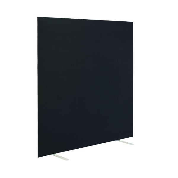First Jemini Floor Stand Screen 1200 x 1600mm Black KF90975