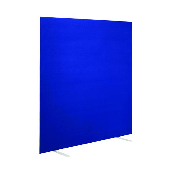 First Jemini Floor Stand Screen 1200 x 1600mm Blue KF90976