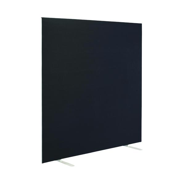 First Jemini Floor Stand Screen 1600 x 1600mm Black KF90977