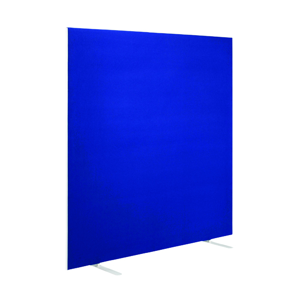 First Jemini Floor Stand Screen 1600 x 1600mm Blue KF90978