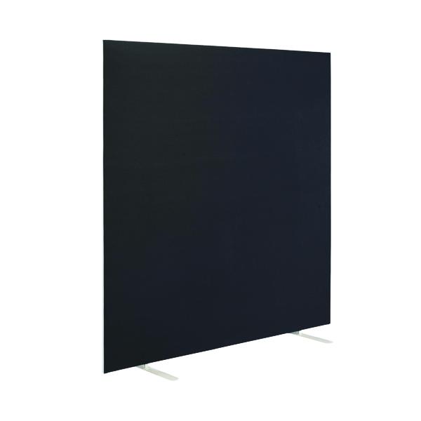 First Jemini Floor Stand Screen 1800 x 1600mm Black KF90979