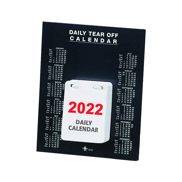 Daily Tear Off Desk Calendar 2022 KFDTO22