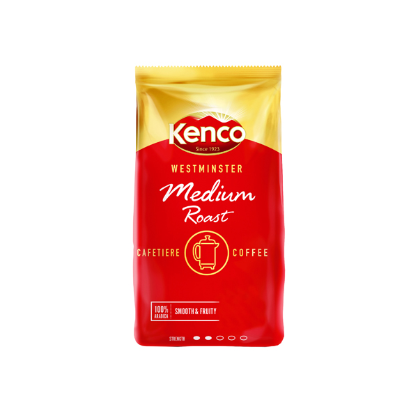 Kenco Westminster Medium Roast Cafetiere Coffee 1kg 24178