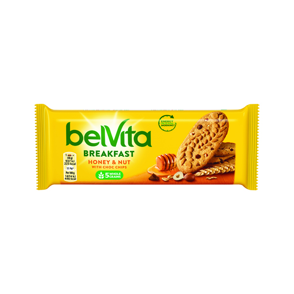 Belvita Breakfast 50g Honey Nut (20 Pack) 665183